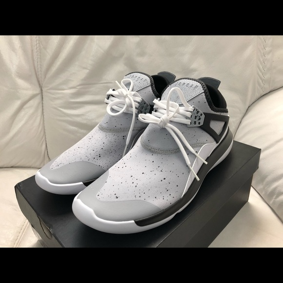 super popular 8bfc0 86f81 Nike Air Jordan Fly 89 Wolf Grey Black New